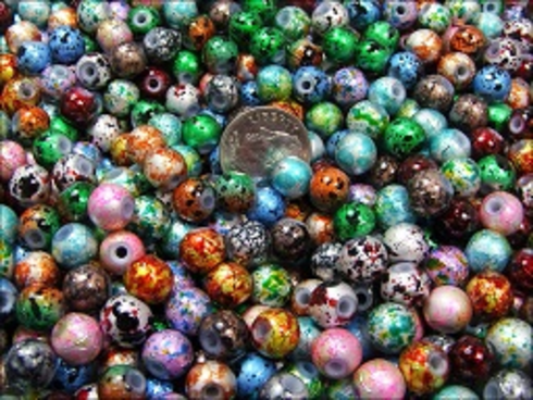 100 Pc Round Sprinkle Glass Beads: http://www.outbid.com/auctions/1484#3