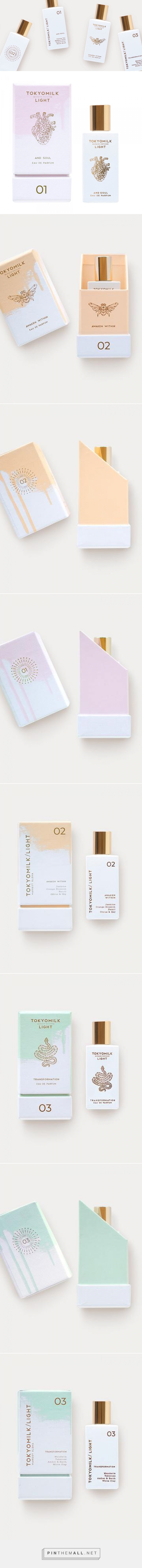 TokyoMilk Light — The Dieline - Branding & Packaging Design - created via https://pinthemall.net