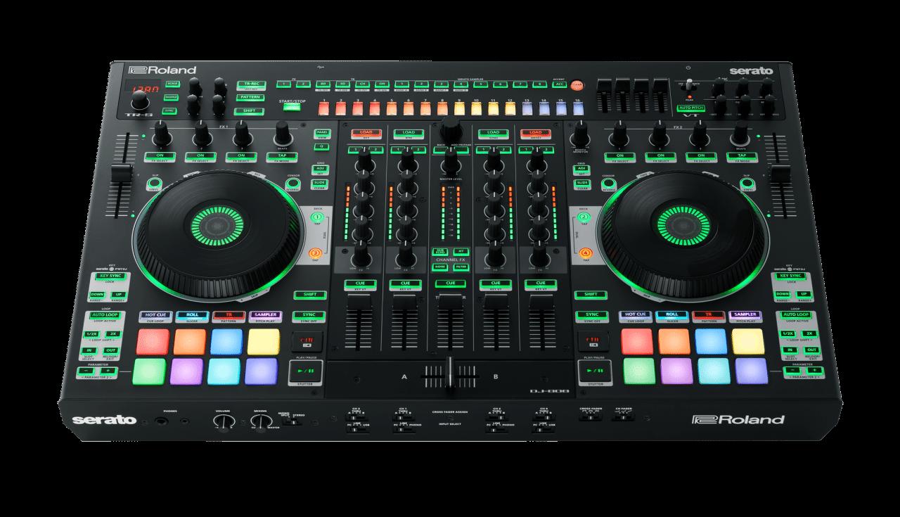 Bpm 2016 Roland Dj 808 Serato Dj Controller Djworx Dj Digital Dj Drum Machine