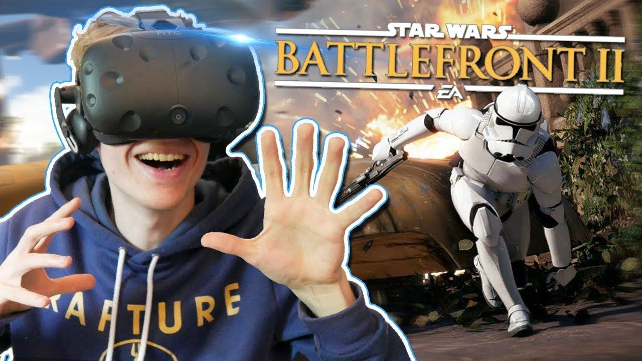 PLAY STAR WARS BATTLEFRONT IN VIRTUAL REALITY! Star