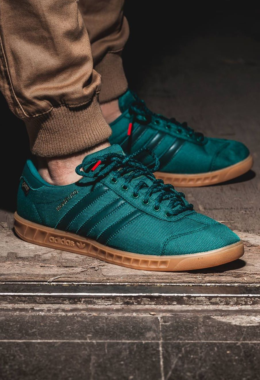 save off 2500a 4f8ff adidas Originals Hamburg Gore-tex  Teal