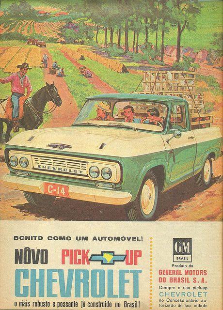 Mid Century Chevrolet Art Cars Old Trucks