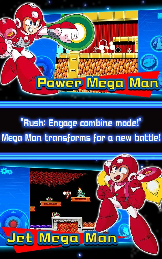 Download MEGA MAN 6 MOBILE Android Game for Free http