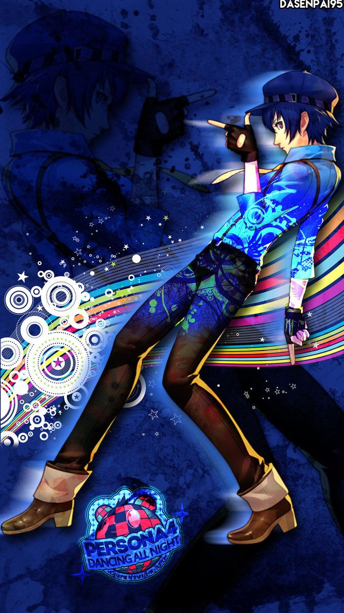 P4 Naoto Dancing All Night Wallpaper By Dasenpai Persona 4