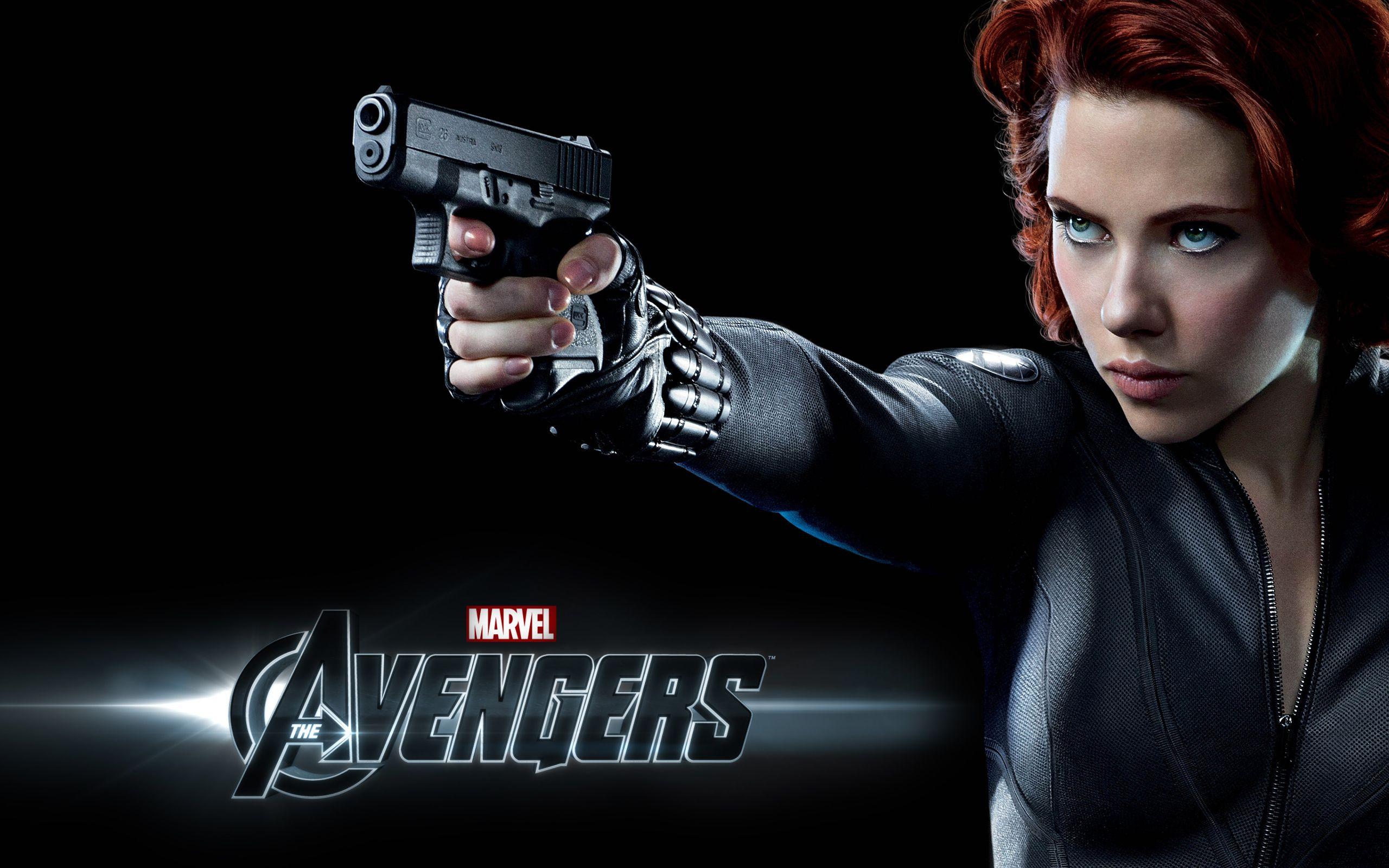 Scarlett Johansson In The Avengers Hd Wallpaper Free Wallpaperd