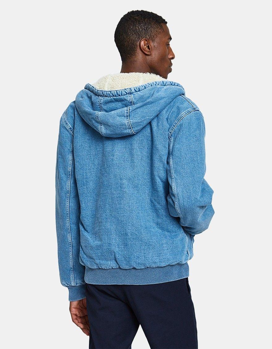 Carhartt Wip Active Jacket In Blue Active Jacket Jackets Clothes [ 1130 x 880 Pixel ]