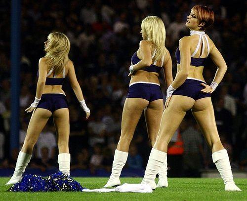 soccer cheerleaders european Hot