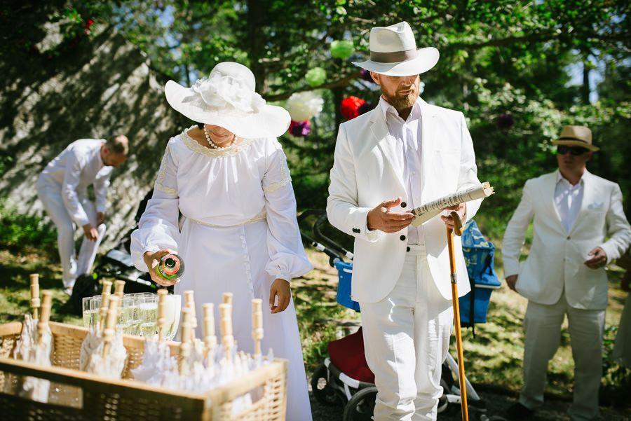 klädkod bröllop