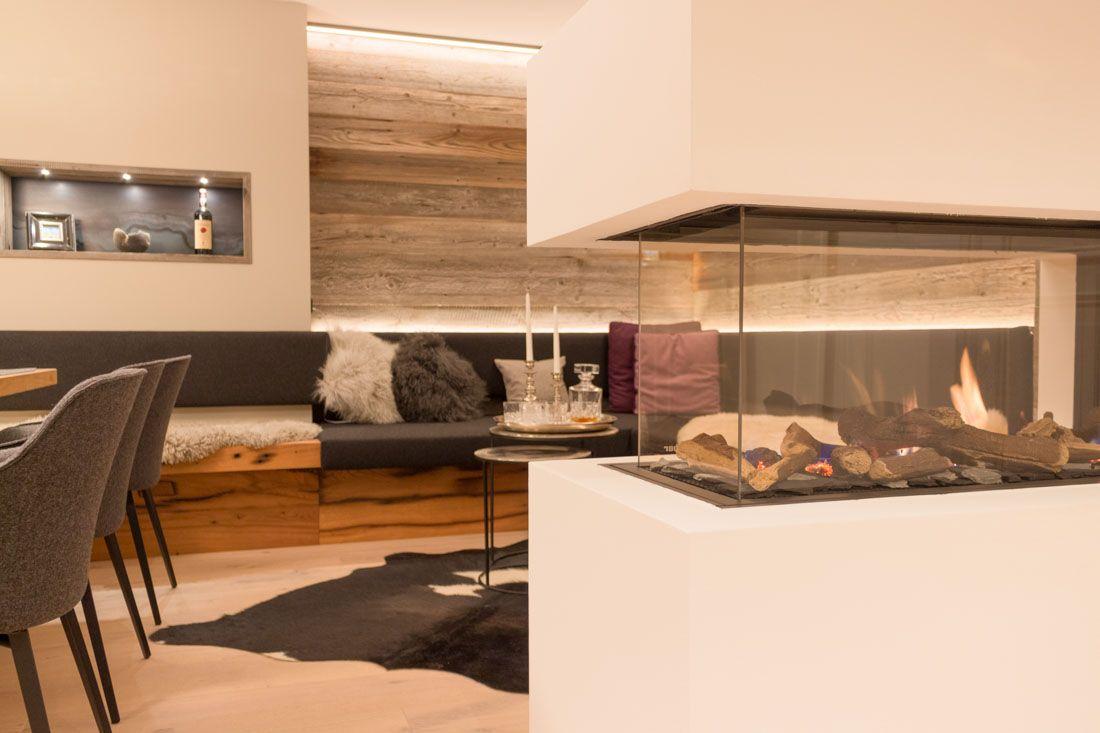 Esszimmer Lounge Entwurf Entkernung Umsetzung Esszimmer