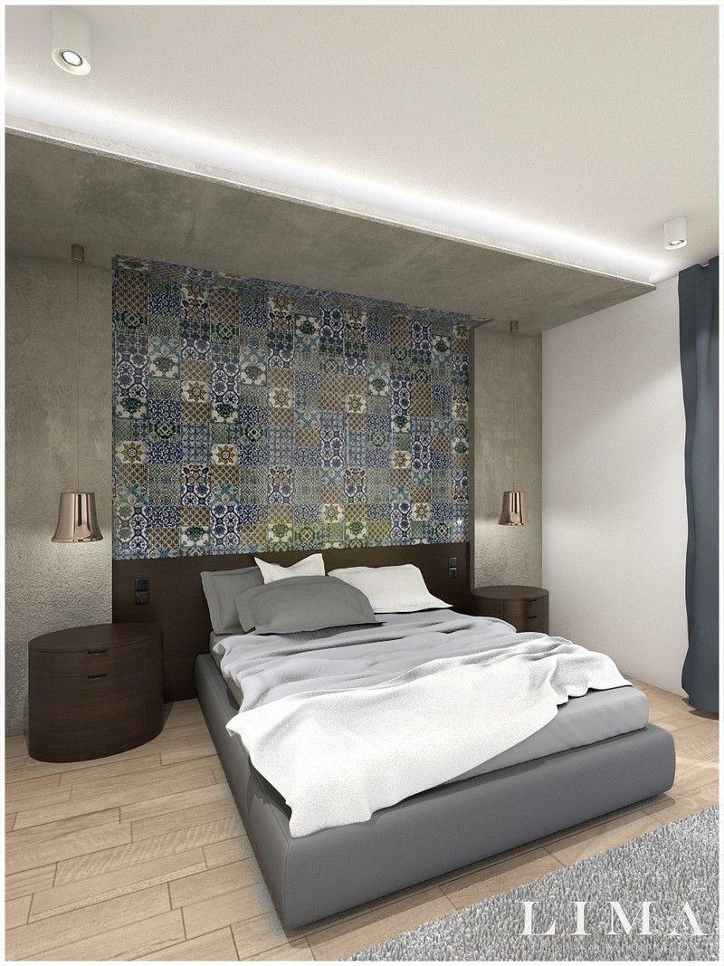 96m2-es kétszobás modern lakás érdekes színpalettával, tágas ...