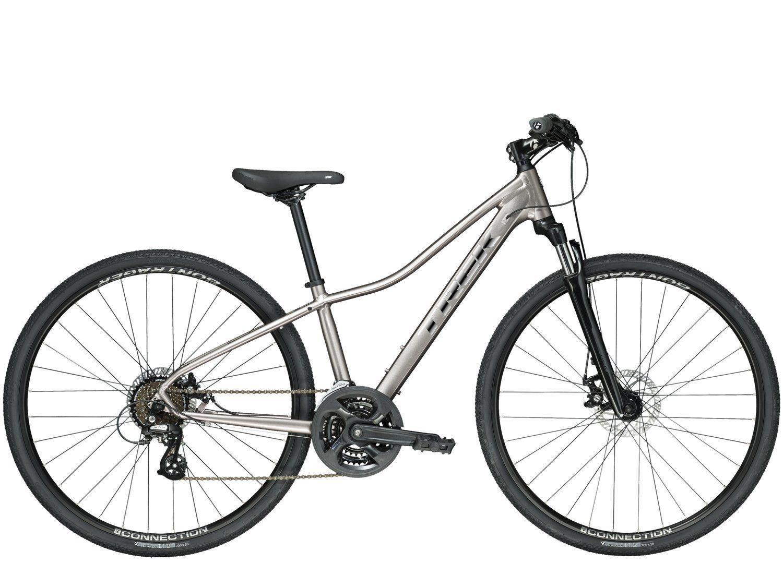 Bicicleta Trek Dual Sport DS1 WSD 2020 Prata Bicicleta