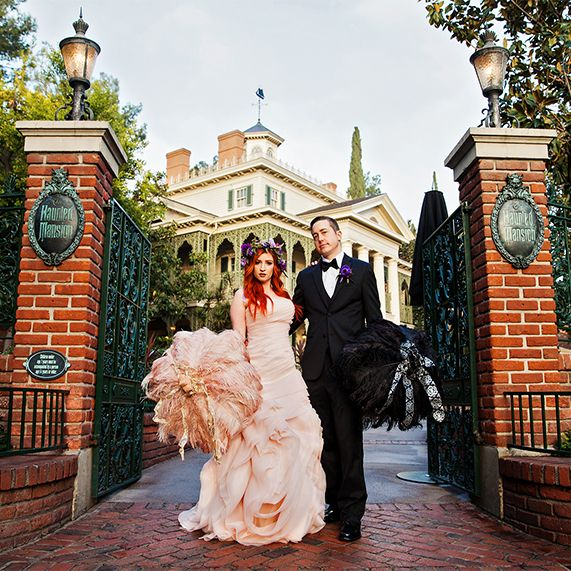 Wedding Venues Near Me Cheap: Beautifully Spooky Portrait Session At The Haunted Mansion