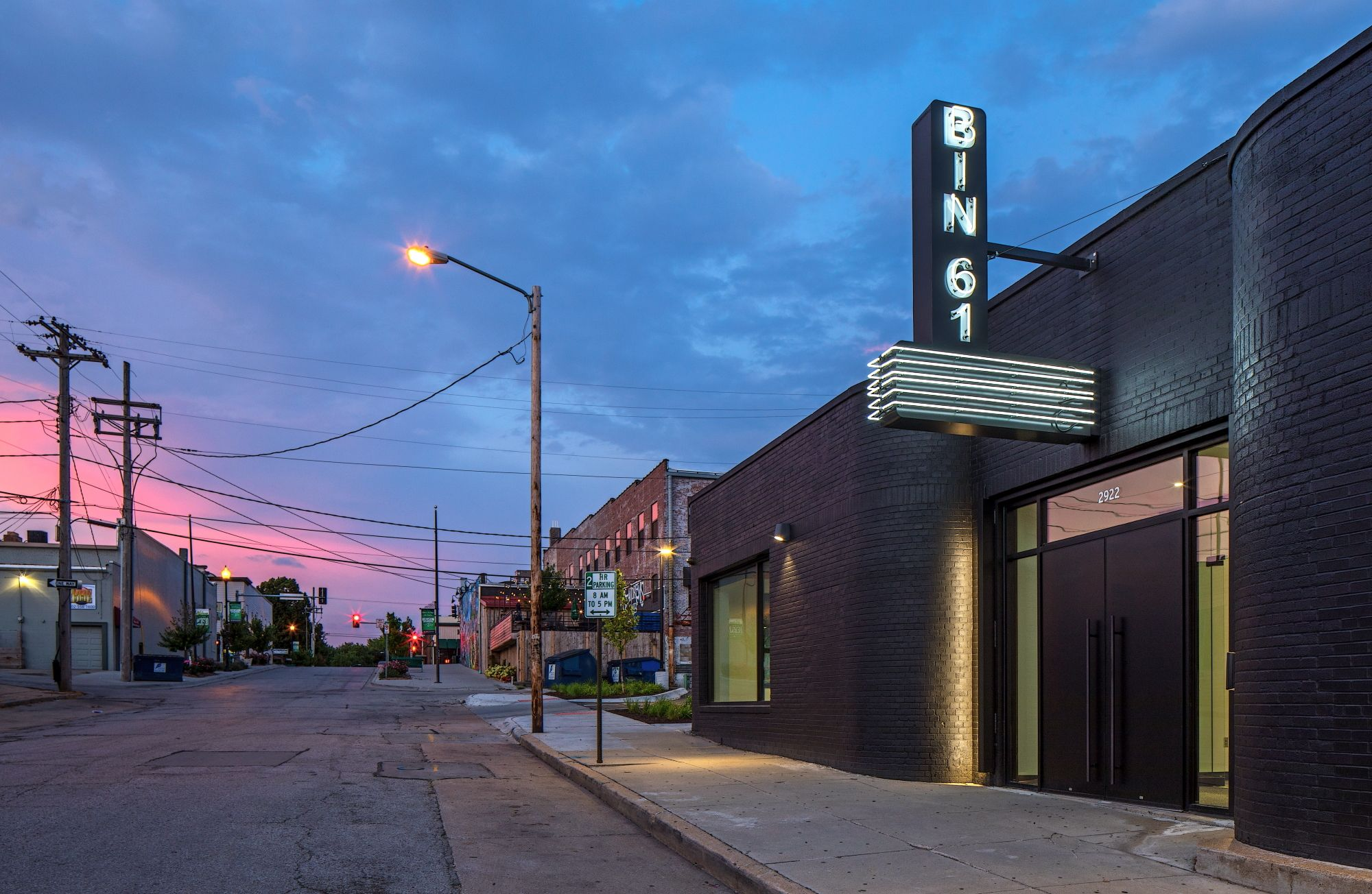Bin61 Tack Architects Architect Facade Lighting Beautiful Buildings