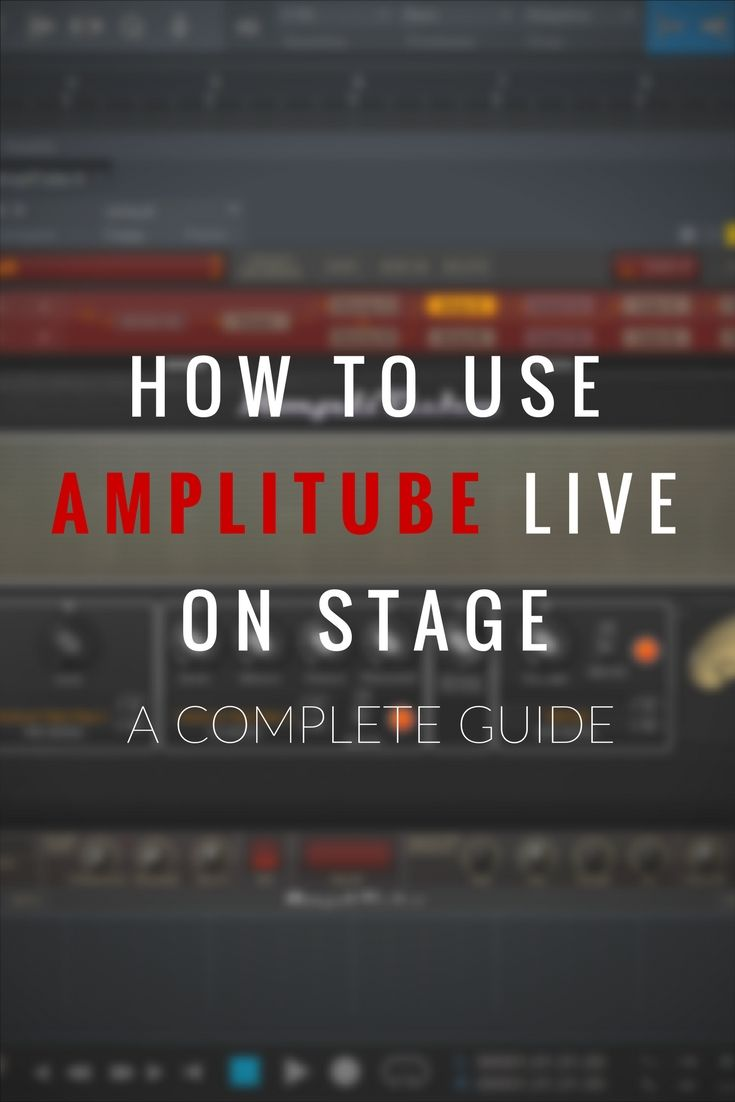 amplitube presets not working