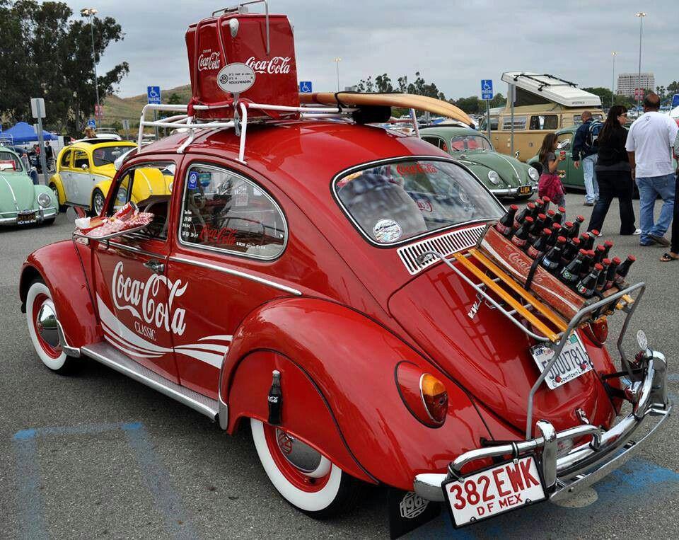 coca cola vw bug beatle volkswagen vw pinterest coca cola vocho y escarabajo. Black Bedroom Furniture Sets. Home Design Ideas