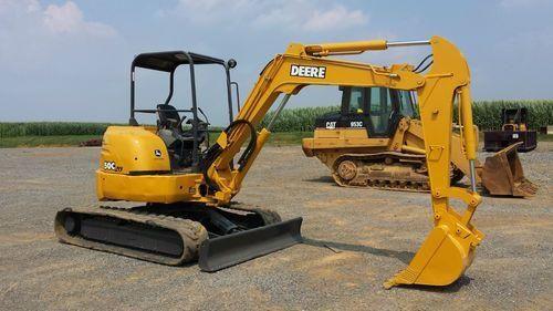 john deere 27c zts 35c zts excavator operation and test service rh pinterest com John Deere Loader Manual John Deere Loader Manual