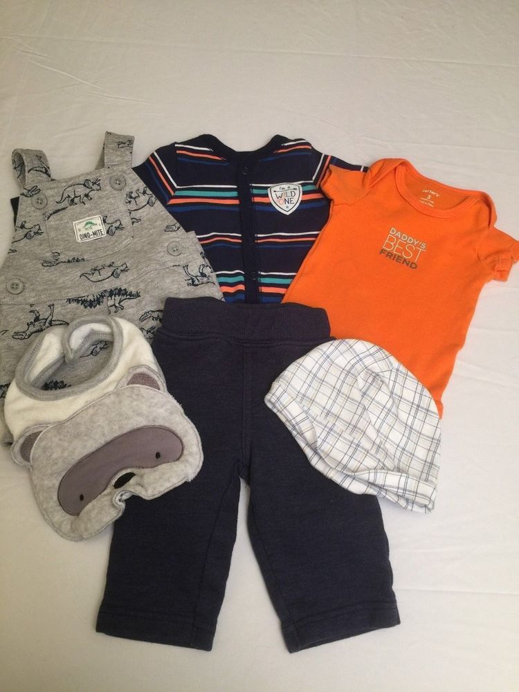 39c6f26c3 Lot Of 6 Baby Boy 3 Months Infant Koala Baby Carters Pants One Piece  Overalls #Carters #Everyday