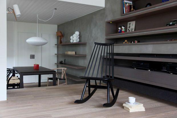 Minimalistic penthouse with japanese styling minimalistisch