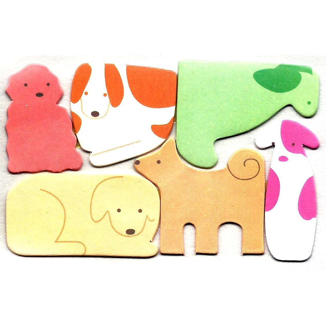 Puppy Dog Shaped Animal Themed Memo Pad Post-it Index Tab