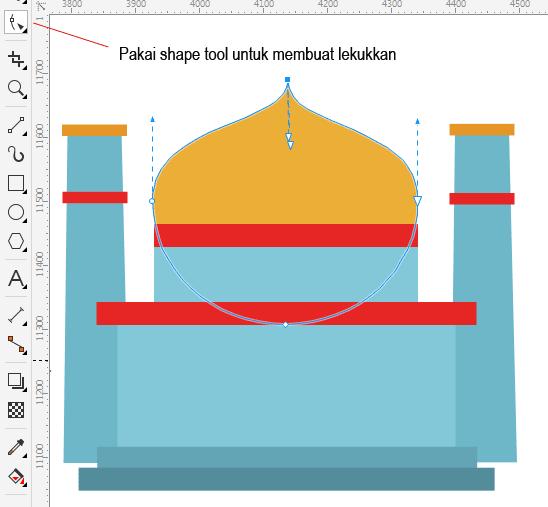 Contoh Gambar Masjid Kartun Sederhana Ideku Unik