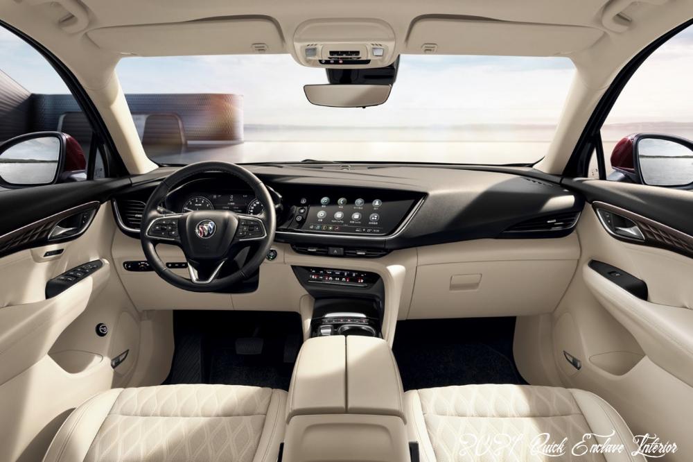2021 Buick Enclave Interior Specs