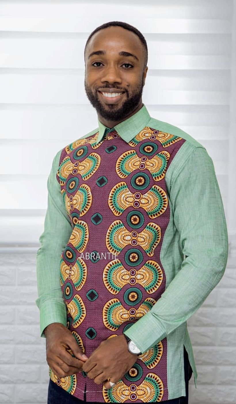 Abrantie | African dresses men, African shirts for men