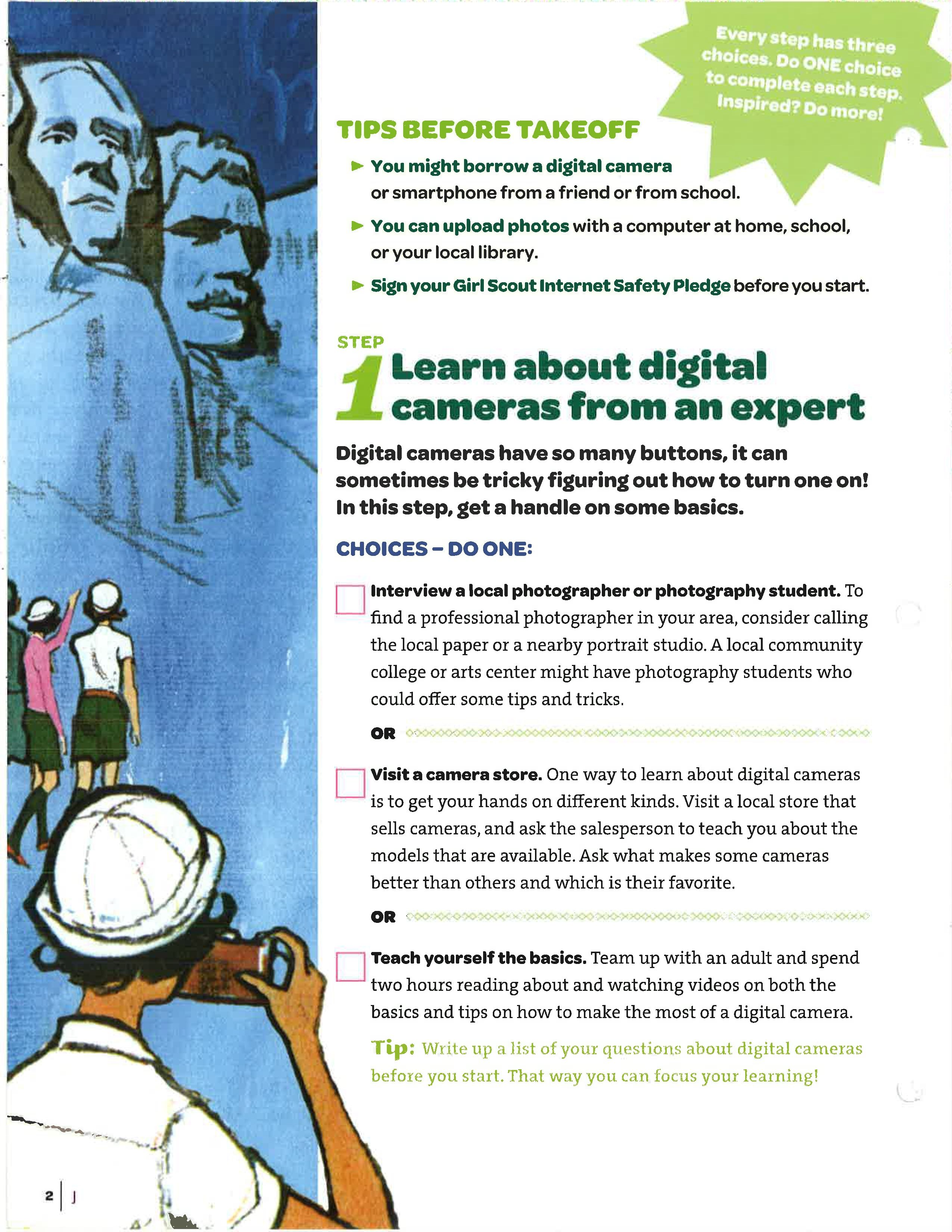 Digital Photography | Junior girl scout badges, Girl scout