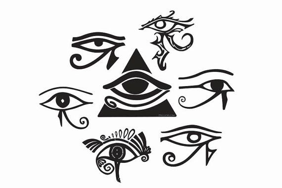 The All Seeing Eye Wadjet Ancient Egypt All Seeing Eye By Lensbug