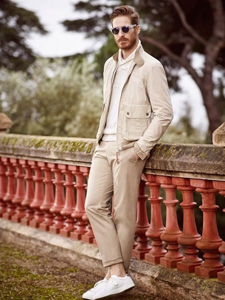 Mango Man Spring In Tuscany 2015 Lookbook