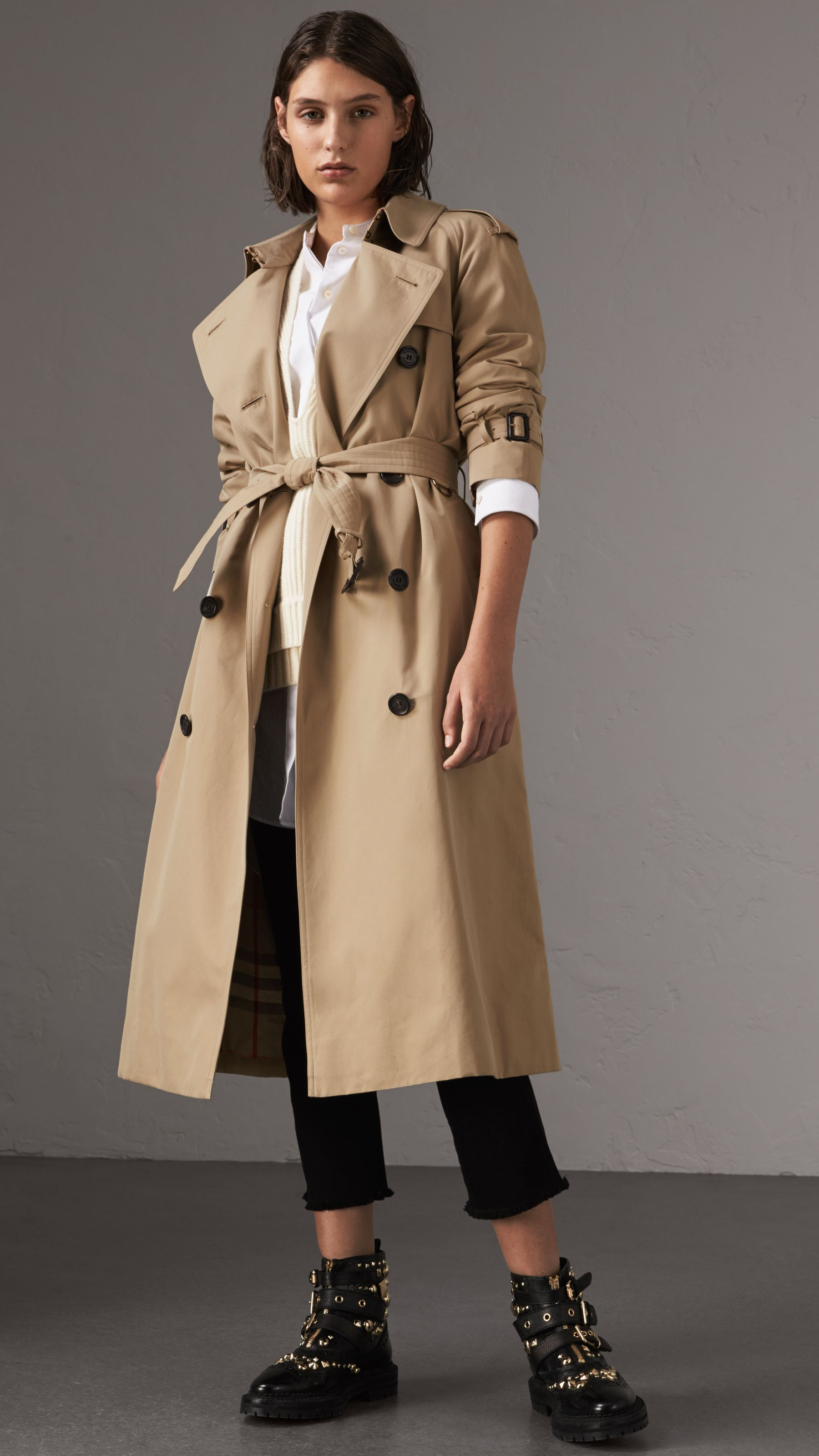 5c1da5c3b0d86 The Westminster – Extra-long Trench Coat in Honey - Women in 2019 ...