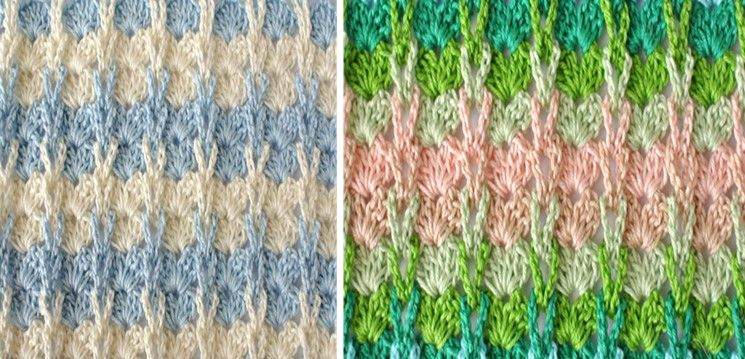 Crocheted Shell Stitch With Knitting Loops [FREE Crochet Pattern ...