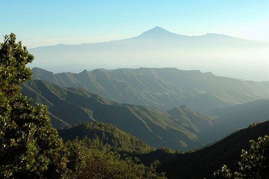 El Teide desde La Gomera