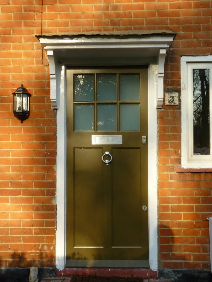 The London Door Company \'Olive Green\' paint colour - Satin | Home ...