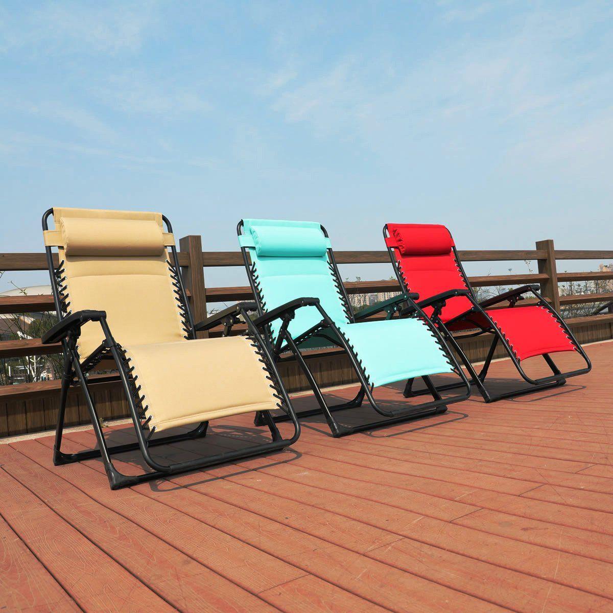 Tremendous Goldsun Comfortable Oversized Xl Padded Zero Gravity Lounge Beatyapartments Chair Design Images Beatyapartmentscom