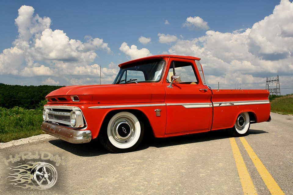Air Bagged 1964 Chevy C10, 327 w/ Double Hump Heads