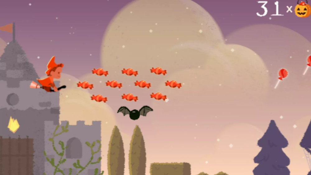 How to Play the Google Doodle Halloween Video Games