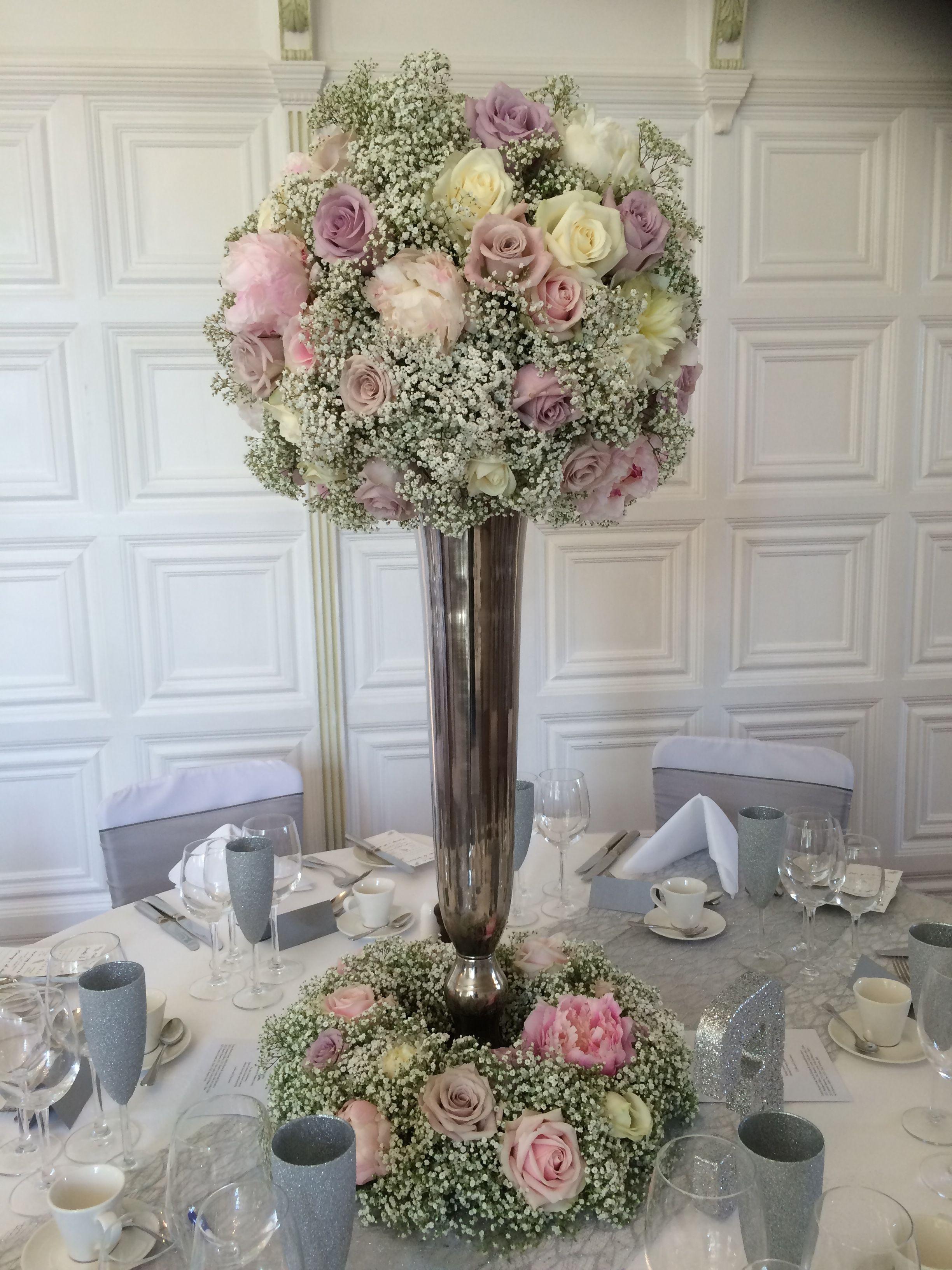 Soft Gypsophila Roses Svatebni Kytka Pinterest Wedding