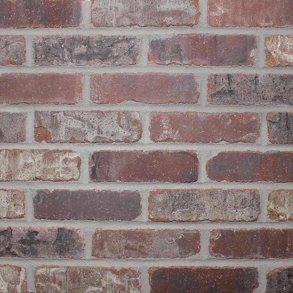 Old Mill Brick Brickwebb Castle Gate Thin Brick Sheets Flats Box Of 5 Sheets 28 In X 10 5 In 8 7 Sq Ft Bw 37006cs Thin Brick Tile Thin Brick Veneer Brick Paneling