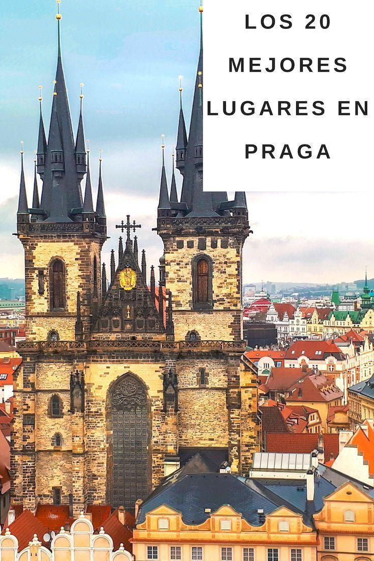 Los MEJORES lugares que ver en Praga (Horarios y Precios)