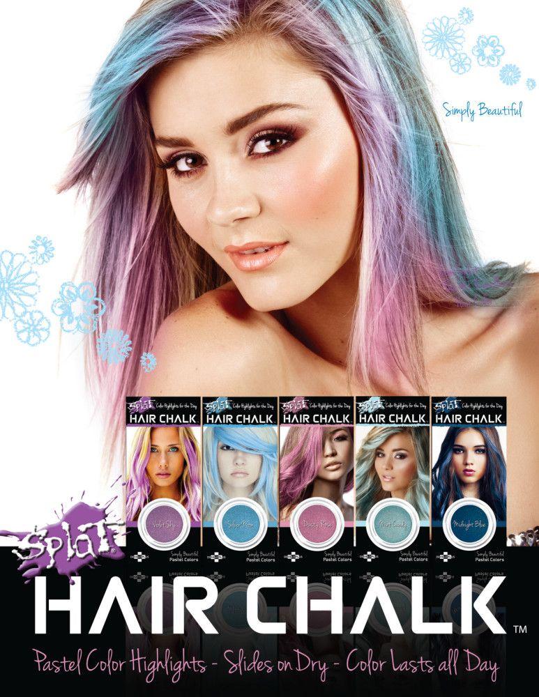 Hair Chalking The Newest Hair Trend Hair Splat hair