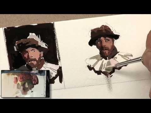 ▶ Painting Gouache Phase II - YouTube