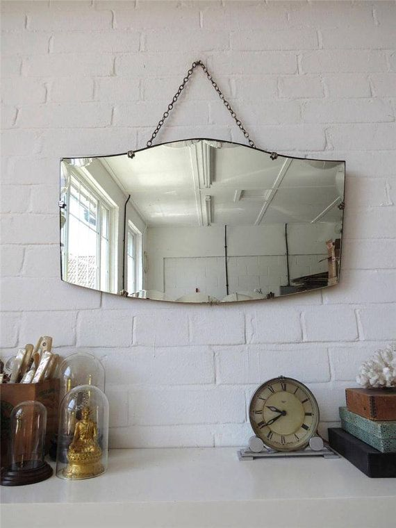Pin By Chenise Ryan On Bedroom In 2020 Vintage Mirror Wall Mirror Wall Beveled Edge Mirror