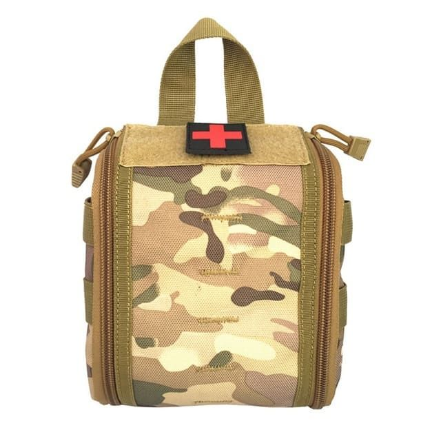 Pouches Tactical First Aid Kit Molle Pouch Outdoor Hunting Airsoft Medical Nylon Ammo Pouch 5 Colors