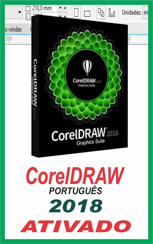 Baixe O Coreldraw 2018 Programa Completo Com Ativador Corel 2018