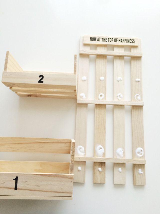 工具はボンドのみ 100均3つでシェルフの作り方 インテリア 収納