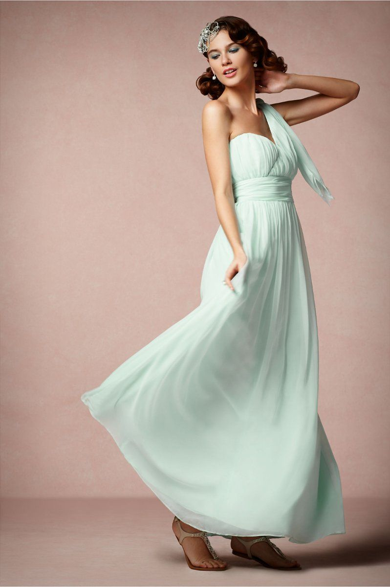 5fe5af892a beautiful color, style and design. We love the Grecian silhouette! {from: @BHLDN  Weddings}
