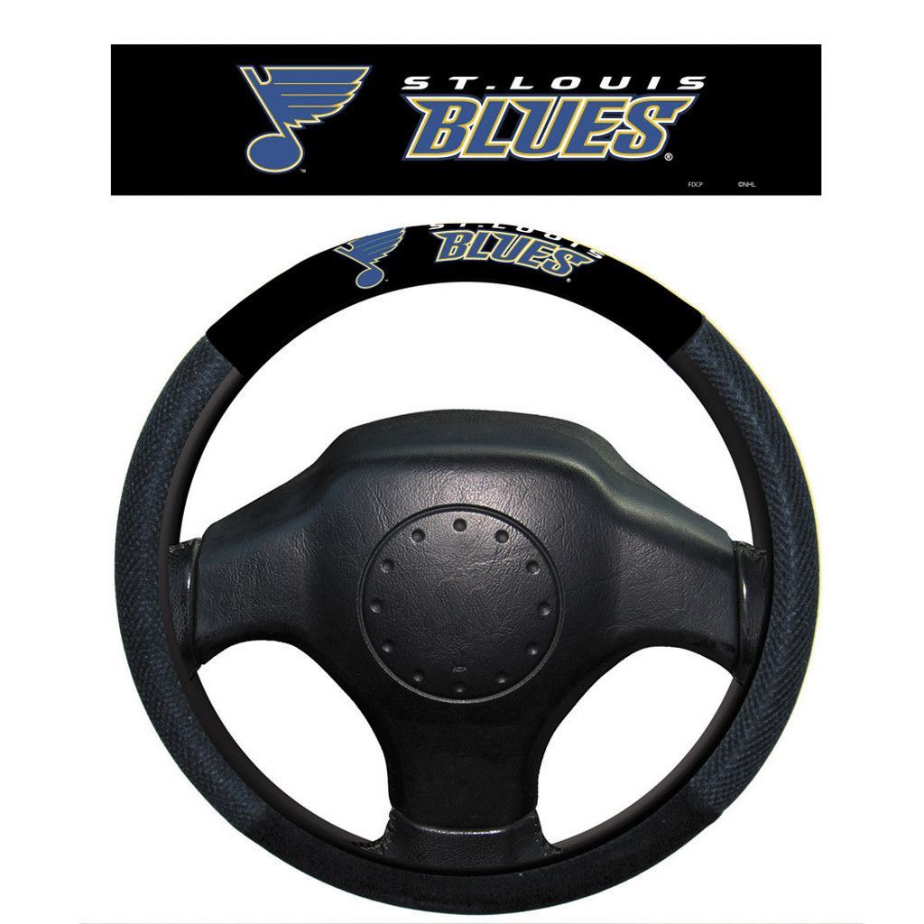St. Louis Blues Poly-Suede Steering Wheels Cover