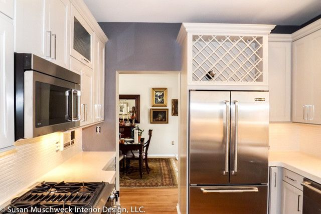 Adorable Small Townhouse Kitchen Traditional Kitchen Other Metro By