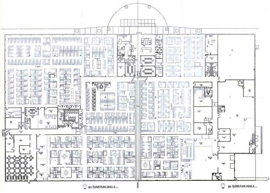 Data Center Building Floor Plan