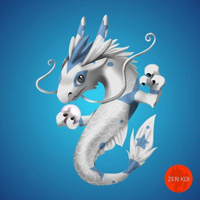 51 (rare, collector's edition) Koi dragon, Anime